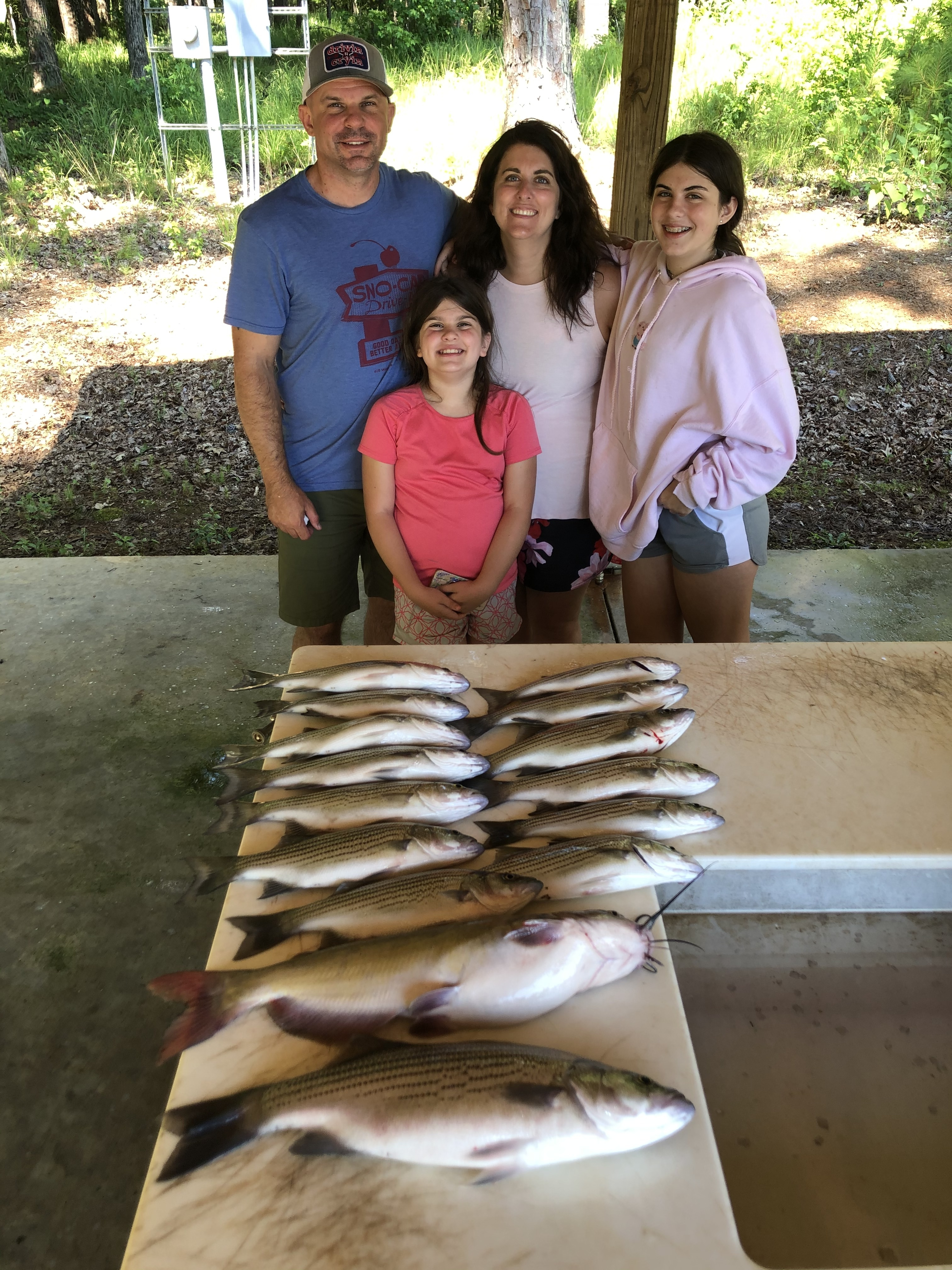 June-20-2020-Jason-Victoria-Rueggeberg-and-their-two-girls-Isabelle-and-Eliese-with-their-catch-of-the-day.IMG_3289