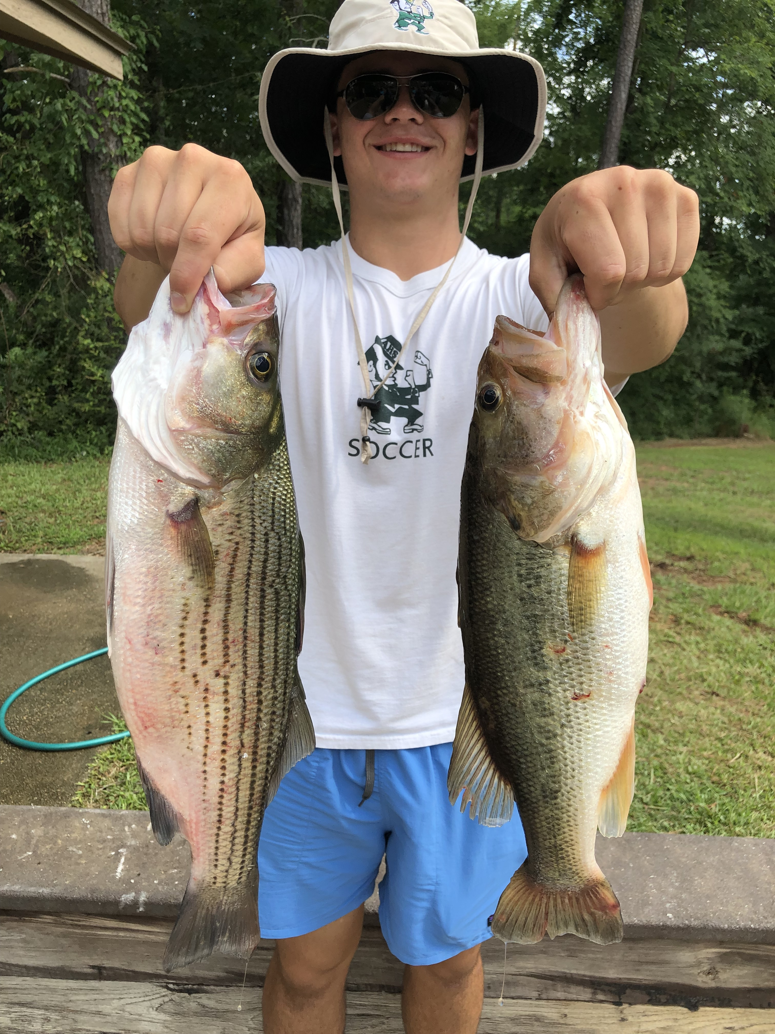 June-29-2019-John-Parrish-with-his-2-big-fish-of-the-day-