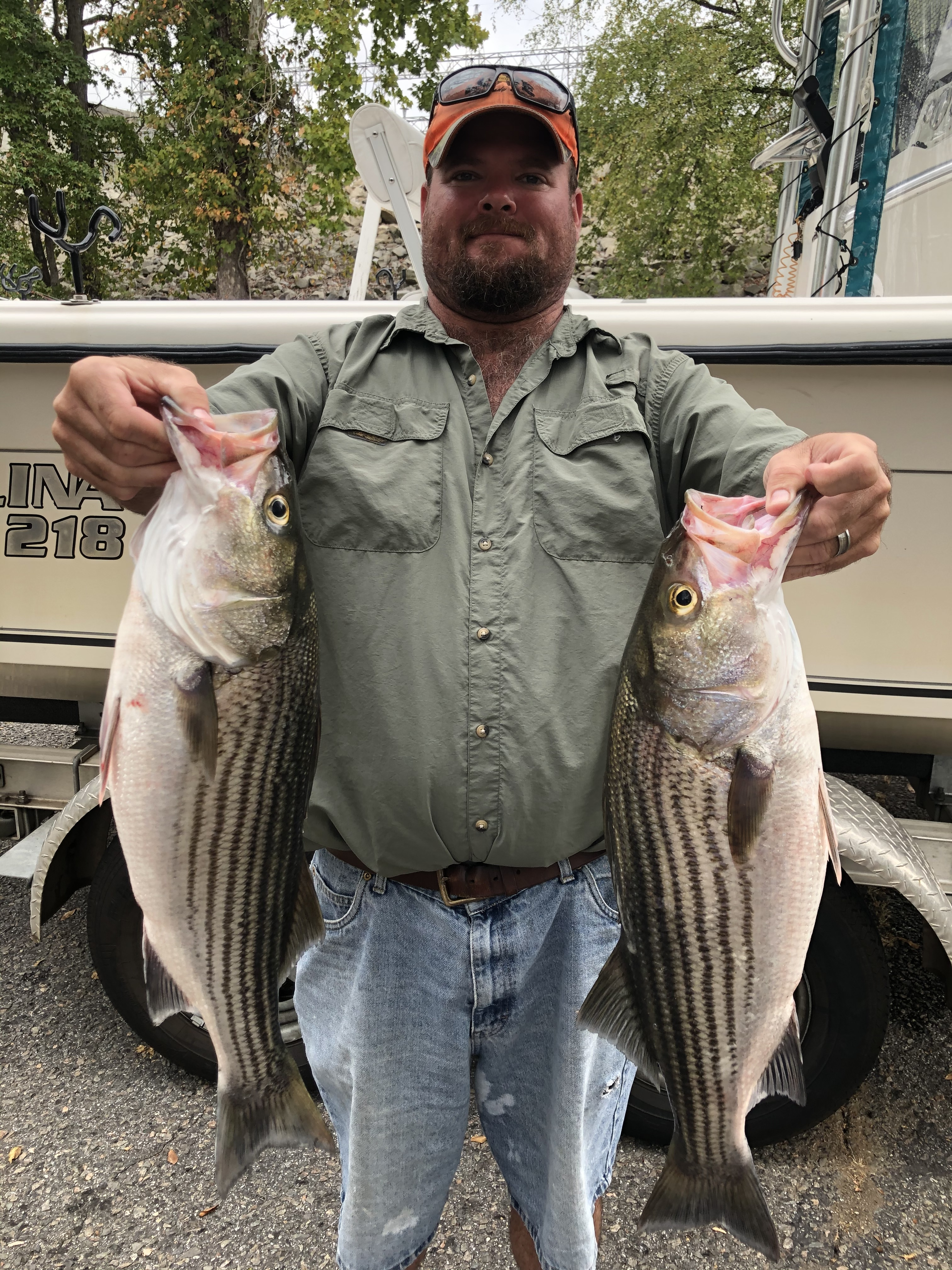 Oct.-9-2019-Brad-Murph-with-his-2-big-stripers.
