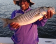 April 22, 2017 Romell Cook with her big hybrid