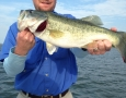 April 23, 2107 Jon Robinson with his 4 pound large mouth bass