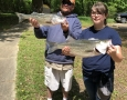 April-8-2020-Brad-Murphy-and-his-daughter-Abby-with-her-two-big-fish