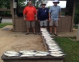 July 1, 2017 Jim Murphy, Roger Hall from Lexington, S.C. and Jim Thouvenot from Evans, Ga