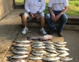 June 15, 2018 Bruce Poole and Dennis Hack with their catch of the day. IMG_2178