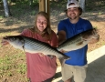 June-2-2020-Haley-Smith-and-Johnathan-Murphy-with-their-two-big-fish-of-the-day.-IMG_3209
