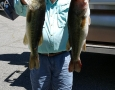 May 17, 2017 Tony Polson with his 5 and 6 lb bass.