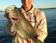 May 3, 2017 Bernie Kershner with his 8 lb bass