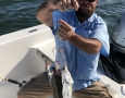 Sept.-24-2019-Brad-with-2-stripers-on-Mini-Mack-rig