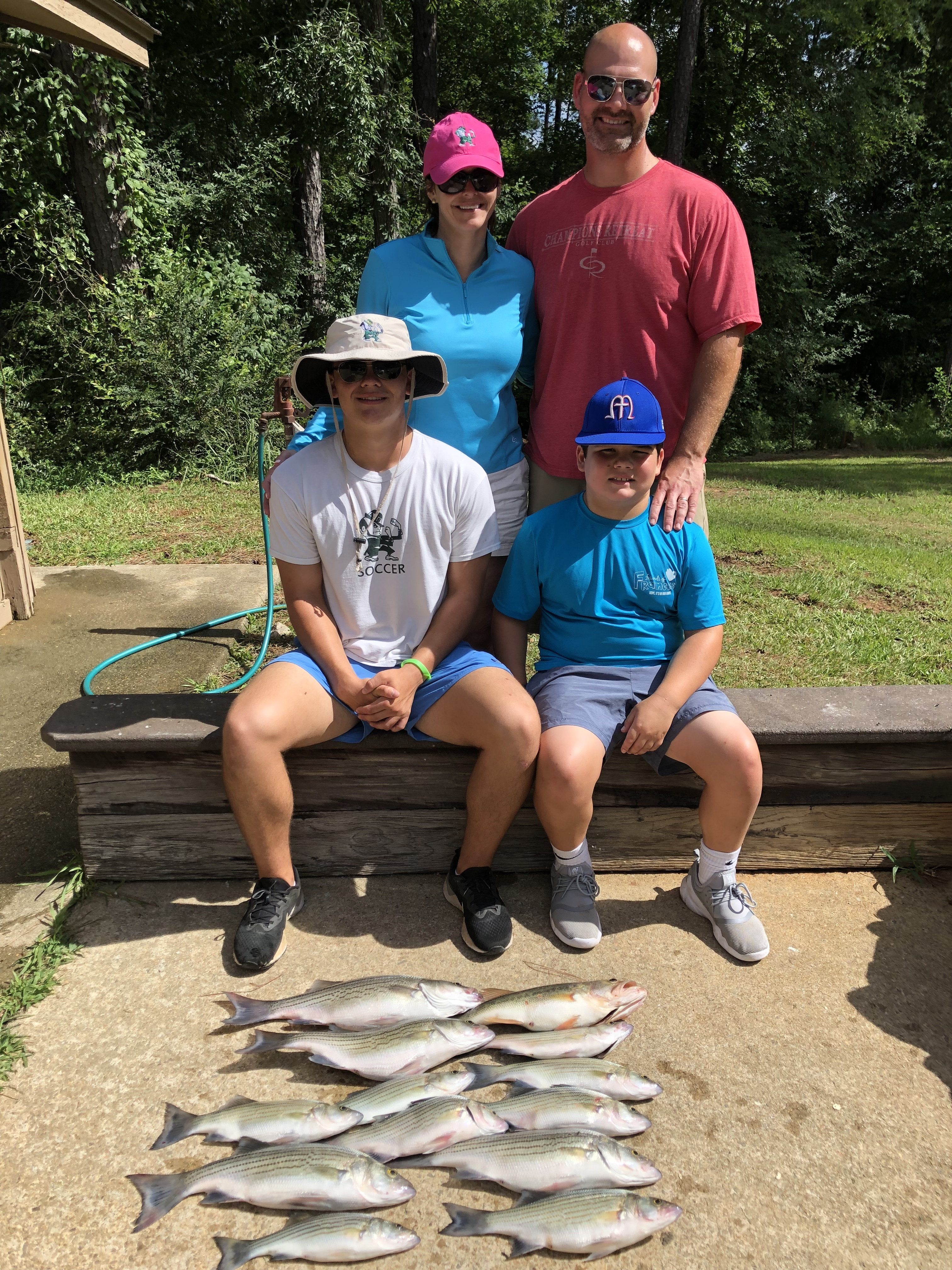 June-292019-Alison-Craig-John-and-Will-Parish-with-their-catch-of-the-day.