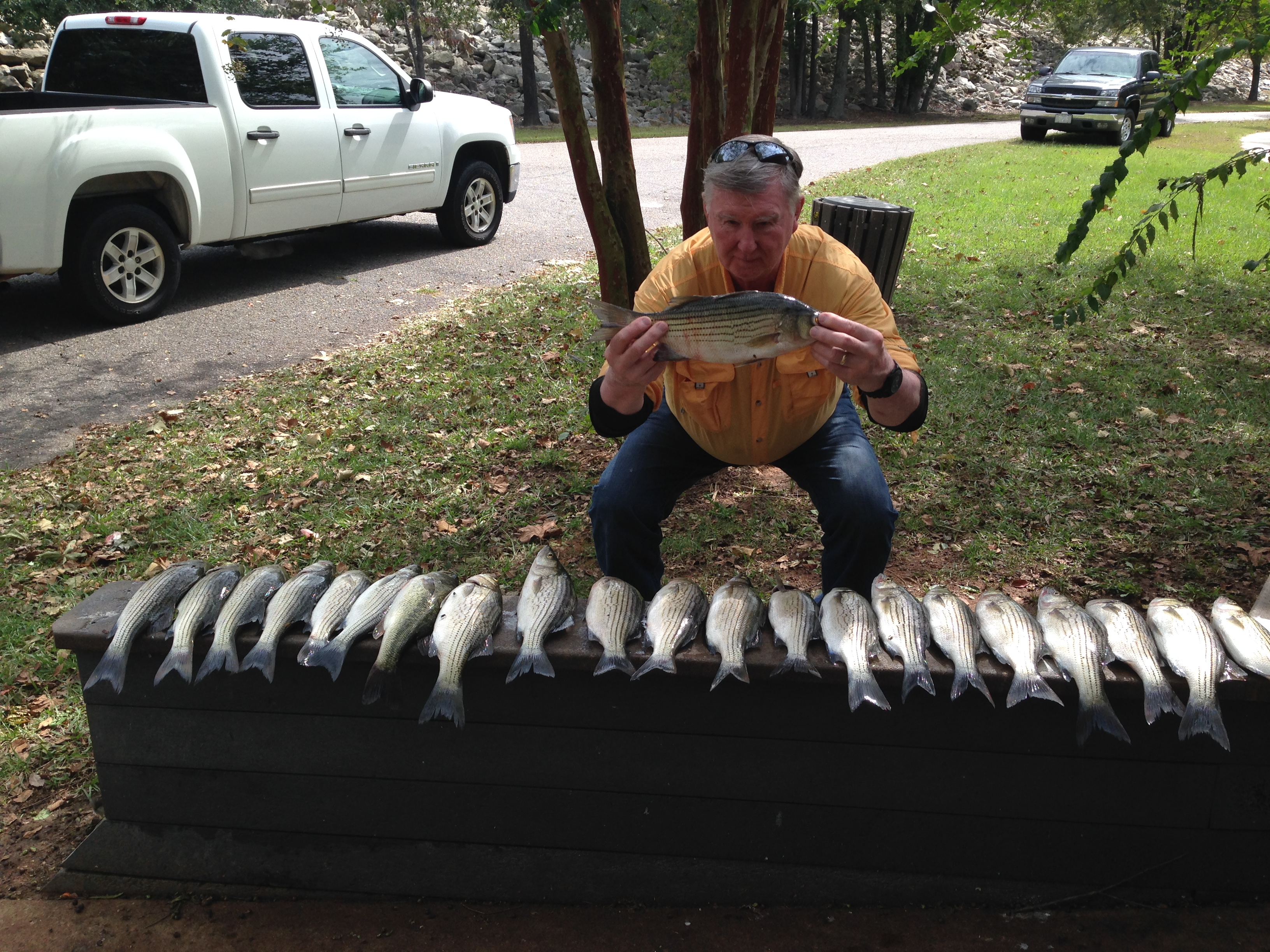 Sept. 14, 2017 Glenn Gray with his nice catch.